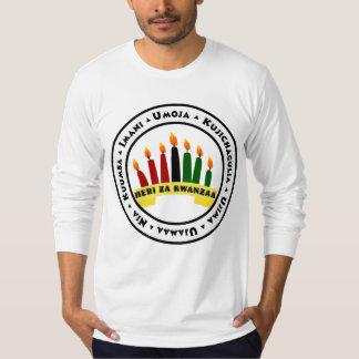 Gelukkige Kwanzaa met 7 Principes T Shirt