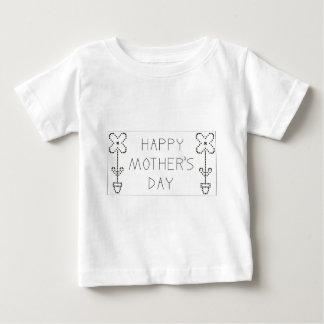 gelukkige moederdag baby t shirts