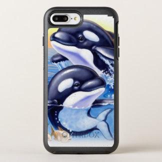 Gelukkige Orka's OtterBox Symmetry iPhone 8 Plus / 7 Plus Hoesje