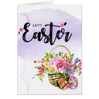 Gelukkige Pasen Kaart