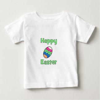 Gelukkige Pasen met Ei Baby T Shirts