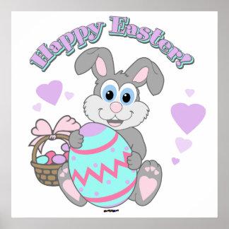Gelukkige Pasen! Paashaas Plaat
