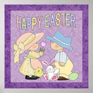 Gelukkige Pasen Poater Poster