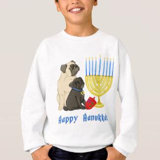 Gelukkige Pugs van de Chanoeka met T - shirts