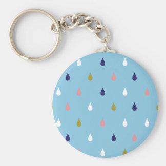 Gelukkige regendalingen sleutelhanger