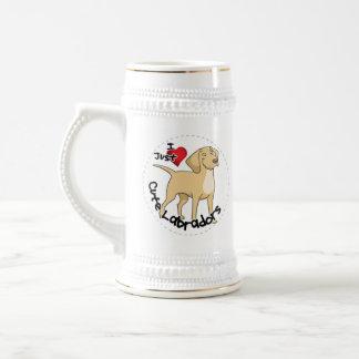 Gelukkige Schattige Grappige & Leuke Labrador Bierpul