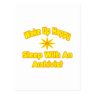 Gelukkige… Slaap van het kielzog de omhoog met een Briefkaart
