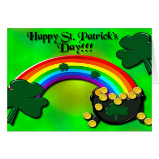 Gelukkige St. Patrick Dag Kaart