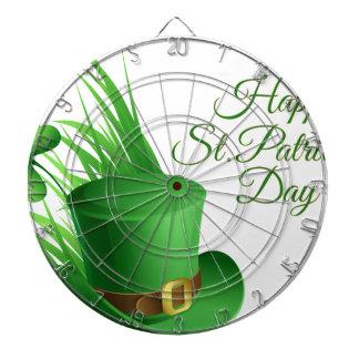 Gelukkige St Patrick dag, vakantie Iers pet Dartbord