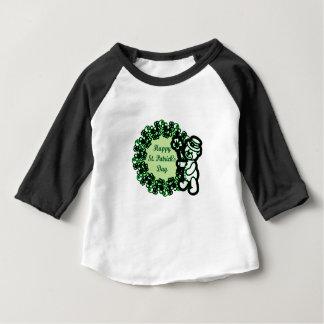 Gelukkige St Patrick s Dag Baby T Shirts