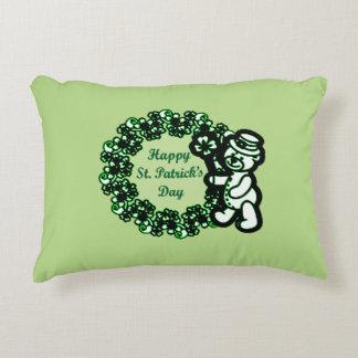 Gelukkige St Patrick s Dag Decoratief Kussen