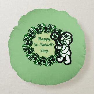 Gelukkige St Patrick s Dag Rond Kussen
