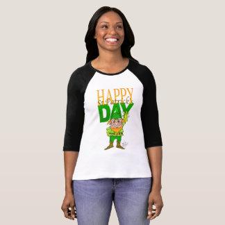 Gelukkige St.Patrict dag, overhemd voor vrouw T Shirt