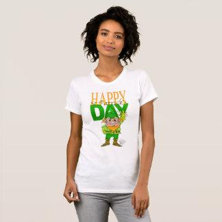 Gelukkige St.Patrict dag, t-shirt voor vrouw