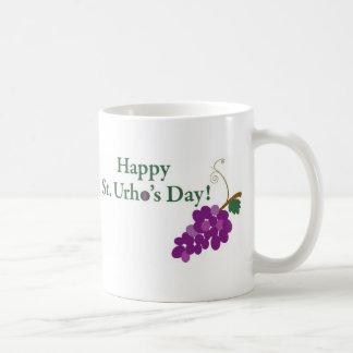 Gelukkige St. Urho Dag! met Druiven Koffiemok