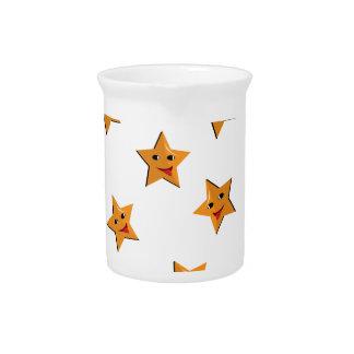 Gelukkige sterren drink pitcher