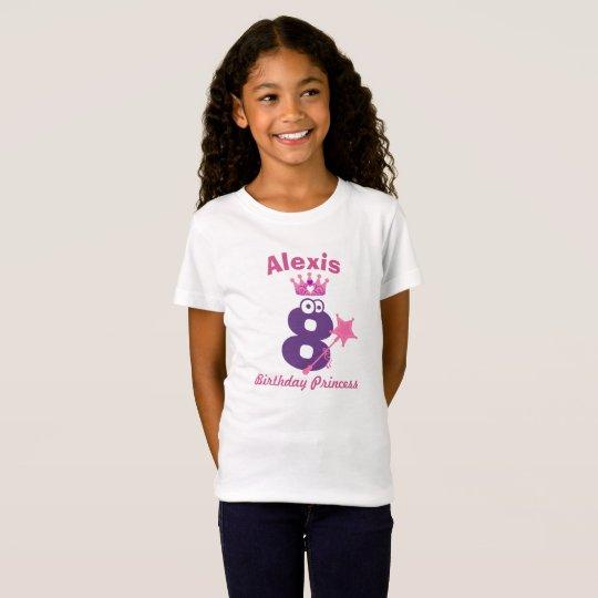 Gelukkige T-shirt van de Prinses van de Verjaardag