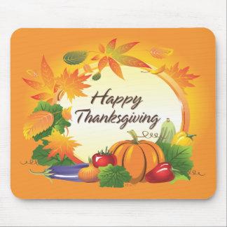 Gelukkige Thanksgiving 5 Mousepad Muismat