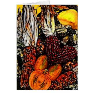 Gelukkige Thanksgiving! Briefkaarten 0