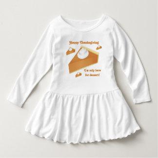 Gelukkige Thanksgiving | de pastei van de Pompoen Baby Jurk