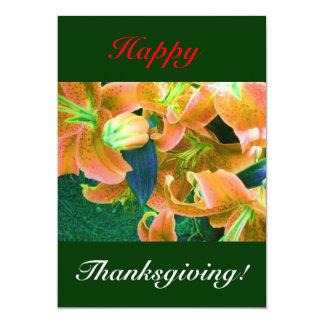 Gelukkige Thanksgiving I Persoonlijke Aankondiging