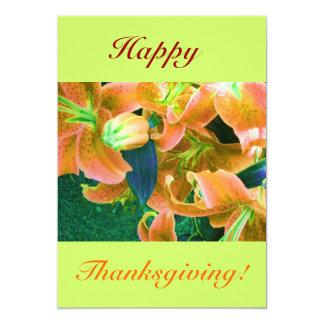 Gelukkige Thanksgiving IV Aankondigingen