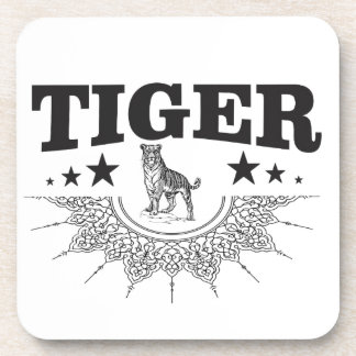 gelukkige tijger bier onderzetter