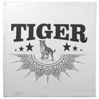 gelukkige tijger servet