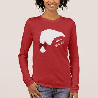 Gelukkige Vakantie van de Boog van het Pet van de T Shirts