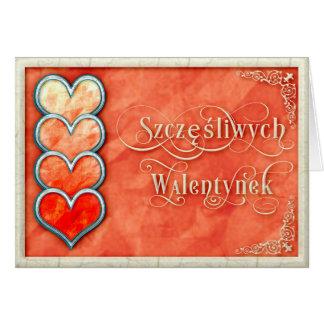 Gelukkige Valentijnsdag+De Kaart van Walentynek