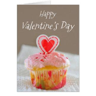 Gelukkige Valentijnsdag, Weinig Cupcake Kaart