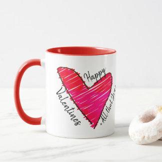 Gelukkige Valentijnskaarten + Al dat Jazz Mok