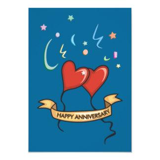 gelukkige verjaardag 12,7x17,8 uitnodiging kaart