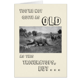 Gelukkige Verjaardag aan een Dinosaurus Kaart