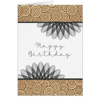 Gelukkige Verjaardag aan Één Hel van een Kerel Briefkaarten 0