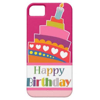 Gelukkige Verjaardag Barely There iPhone 5 Hoesje