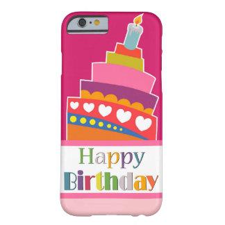 Gelukkige Verjaardag Barely There iPhone 6 Hoesje