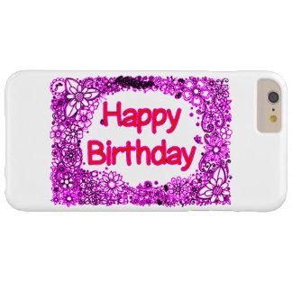 Gelukkige Verjaardag Barely There iPhone 6 Plus Hoesje