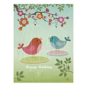 Gelukkige Verjaardag Vogel Cadeaus Zazzle Nl