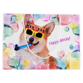 Gelukkige Verjaardag Corgi Groot Cadeauzakje