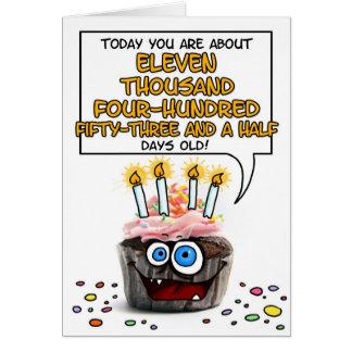 Gelukkige Verjaardag Cupcake - 31 jaar oud Briefkaarten 0
