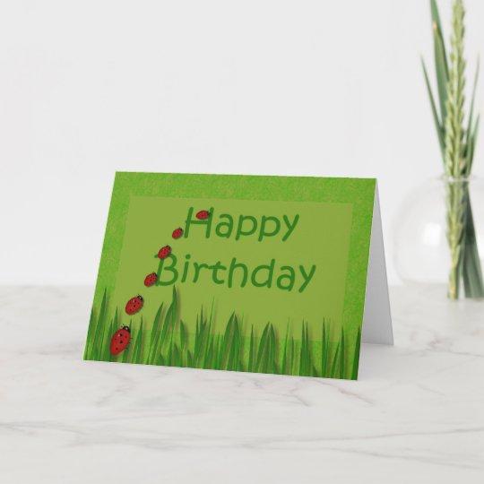 Gelukkige Verjaardag Dame Bugs Kaart Zazzle Nl