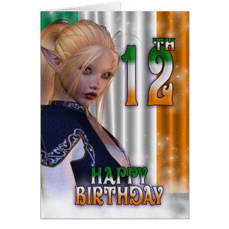 Gelukkige Verjaardag het Iers, Elf Kaart