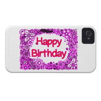 Gelukkige Verjaardag iPhone 4 Hoesje