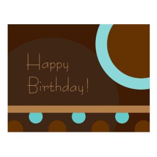 Gelukkige Verjaardag! Retro 103 Briefkaart