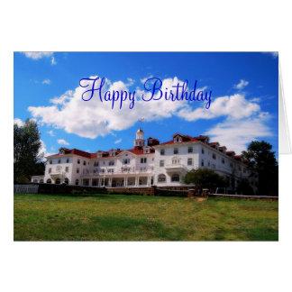 Gelukkige Verjaardag, Stanley Hotel, Colorado Kaart