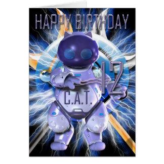 Gelukkige Verjaardag twaalfde, de Kat van de Briefkaarten 0