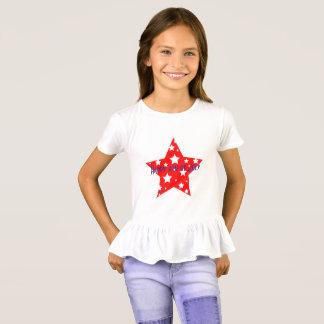 Gelukkige vierde van het Overhemd van Juli Hip Hop T Shirt