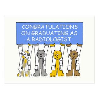 Gelukwensen bij het een diploma behalen als briefkaart