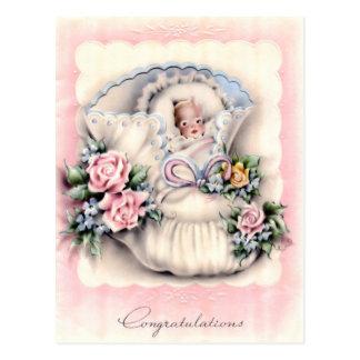 Gelukwensen op het Nieuwe Briefkaart van het Baby
